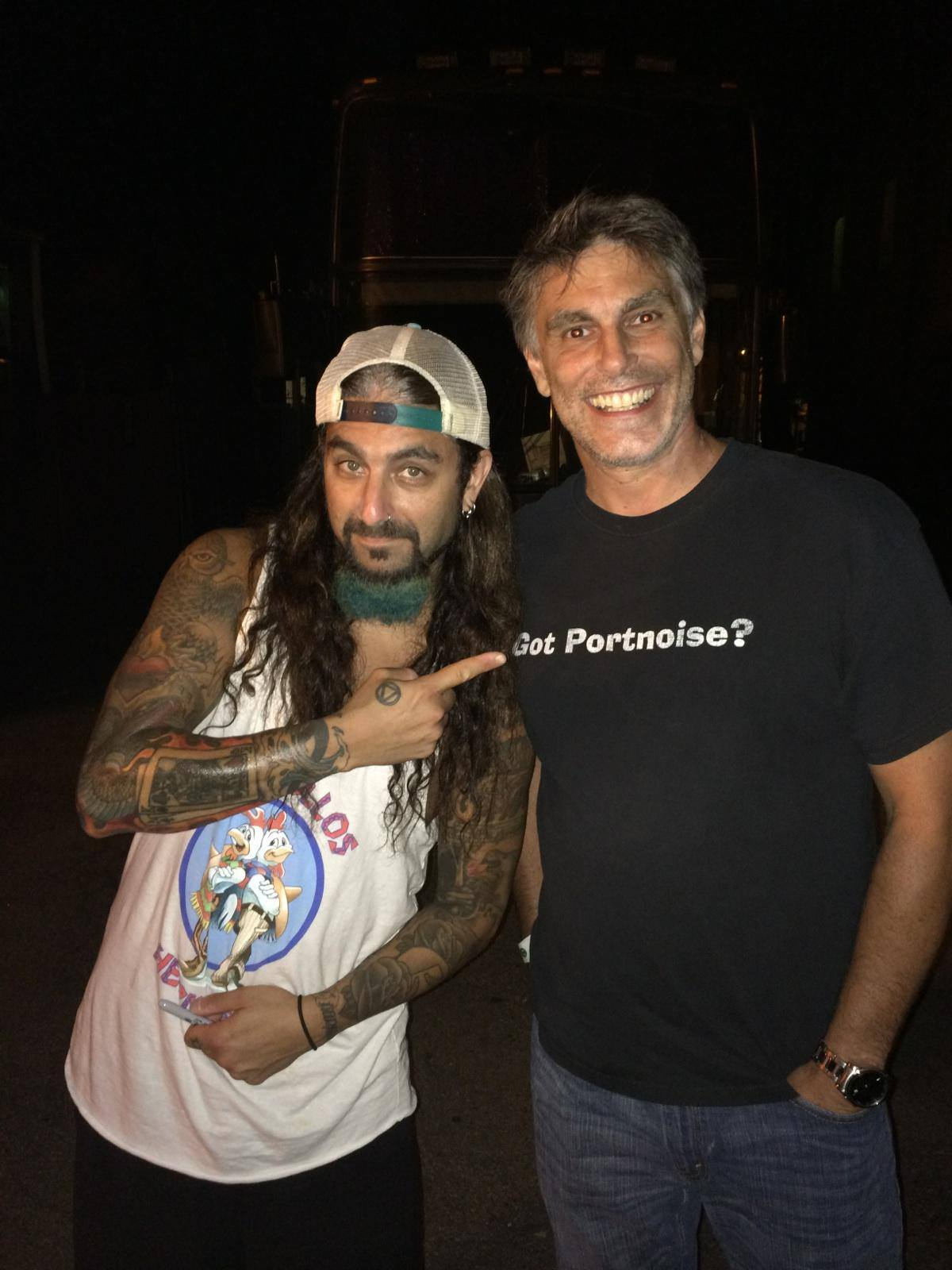 Me and Mike Portnoy