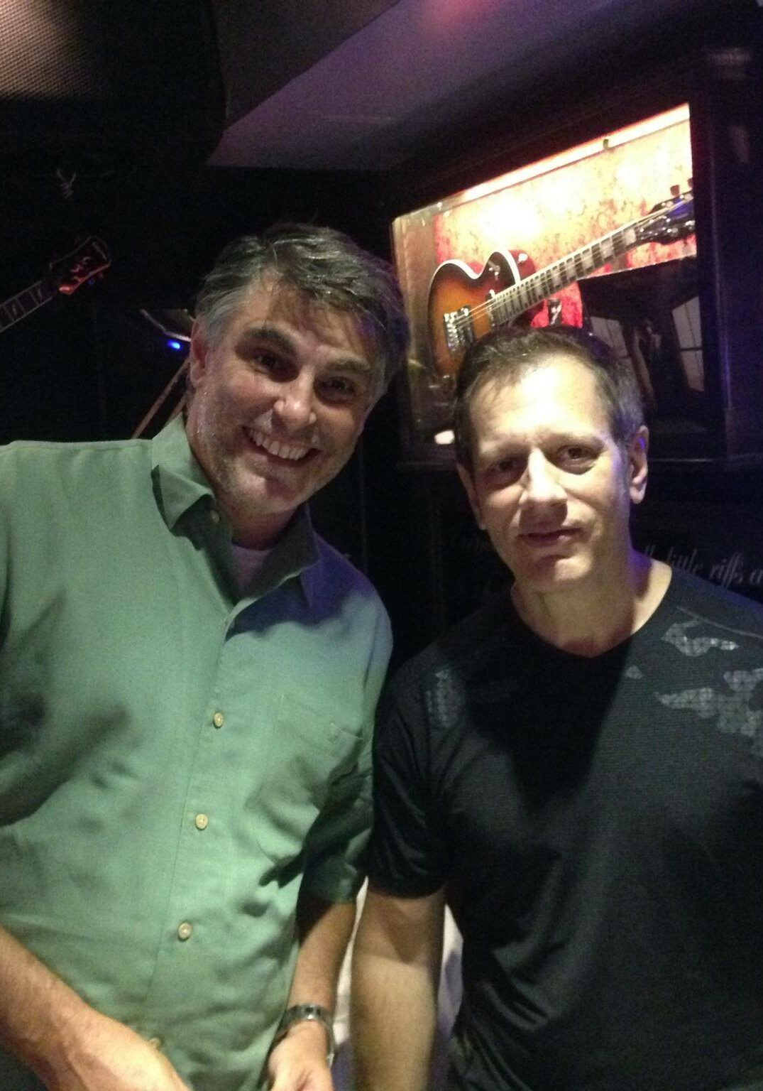 Me and Dave Weckl
